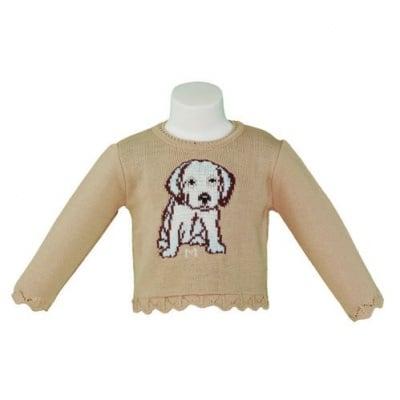 Блузка с кученце