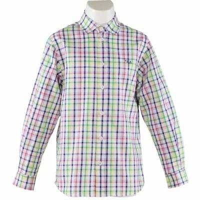 Риза каре с дъгъл ръкав
