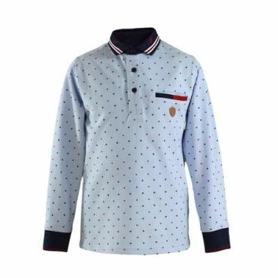 Блузка с якичка