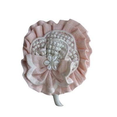 Диадема в нежно розово