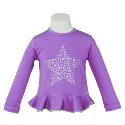 Блузка в лилаво
