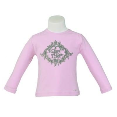 Блузка в розово