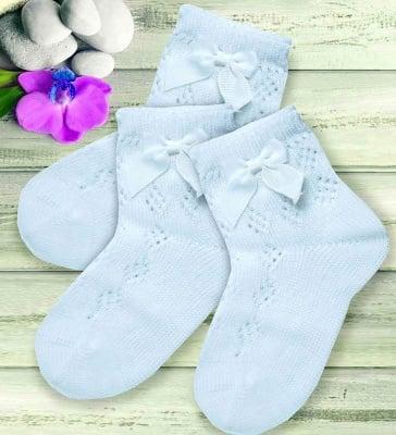 Къси чорапки с панделка