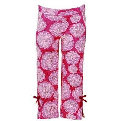 Панталон с флорални мотиви