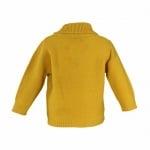 Пуловер горчица